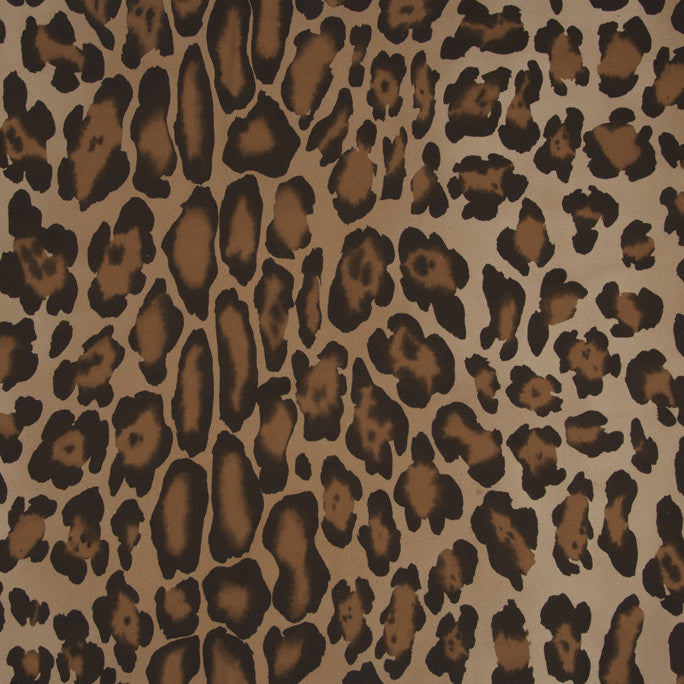 Animal Print Stretchable Cotton 1091Woven