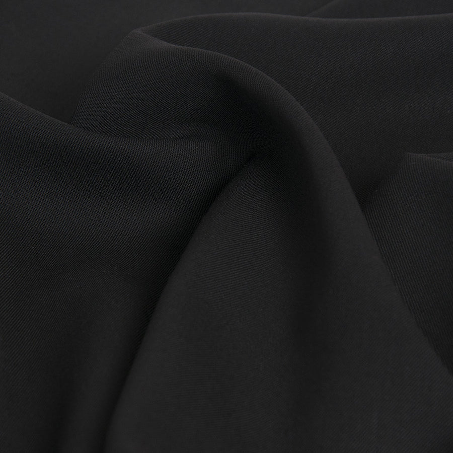 Black Suiting Fabric 118 - Fabrics4Fashion