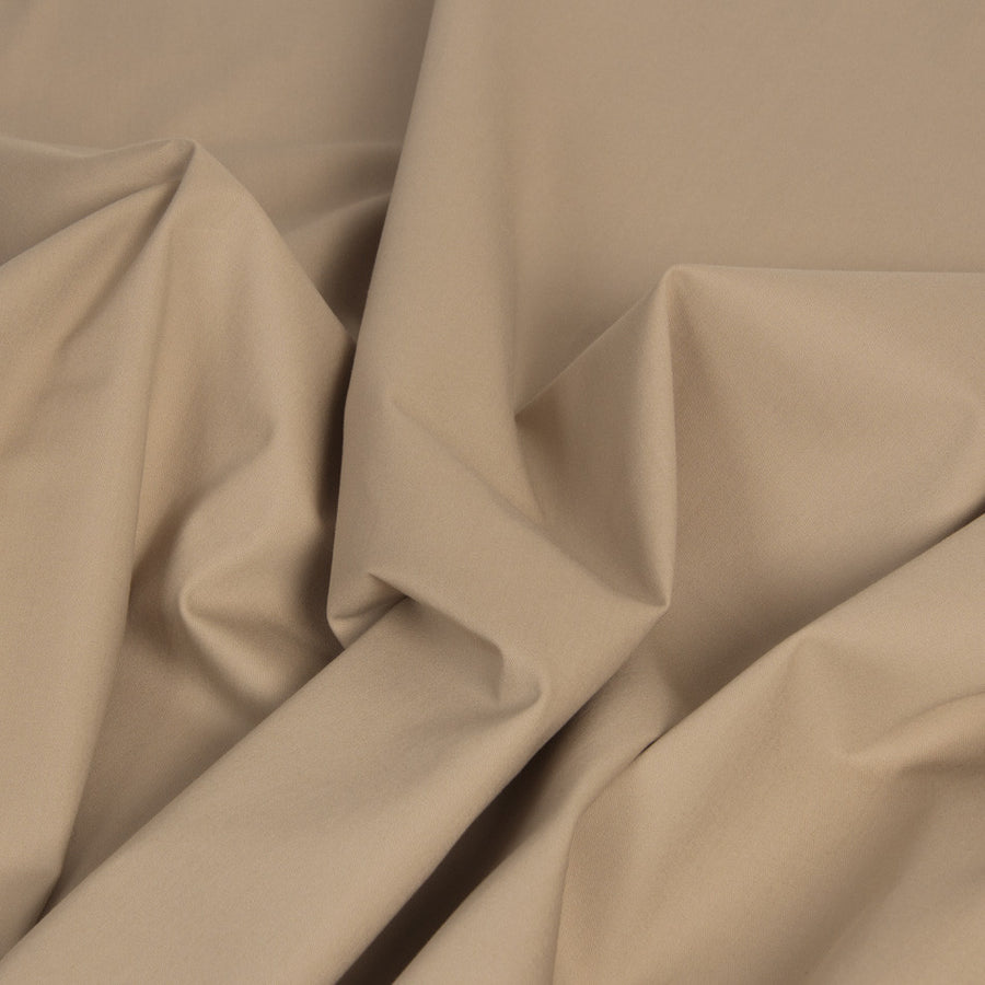 Nude Cotton Stretch Fabric 120Woven