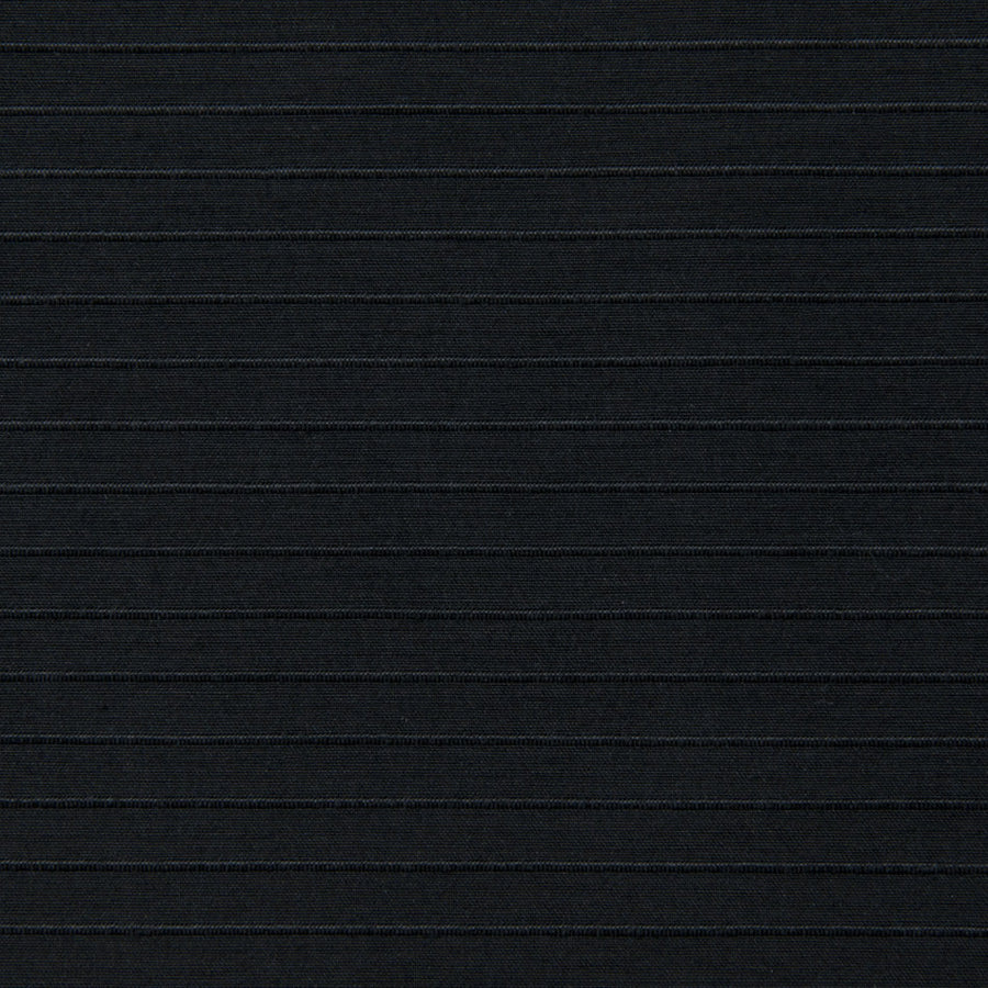 Black Fancy Poplin 129 - Fabrics4Fashion