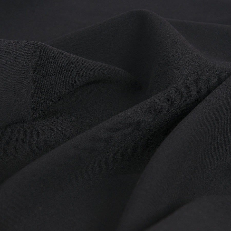 This suiting fabric is perfect for making stylish suits, skirts, trousers or business suits since it has a touch of Lycra for added comfort and wearing ease.