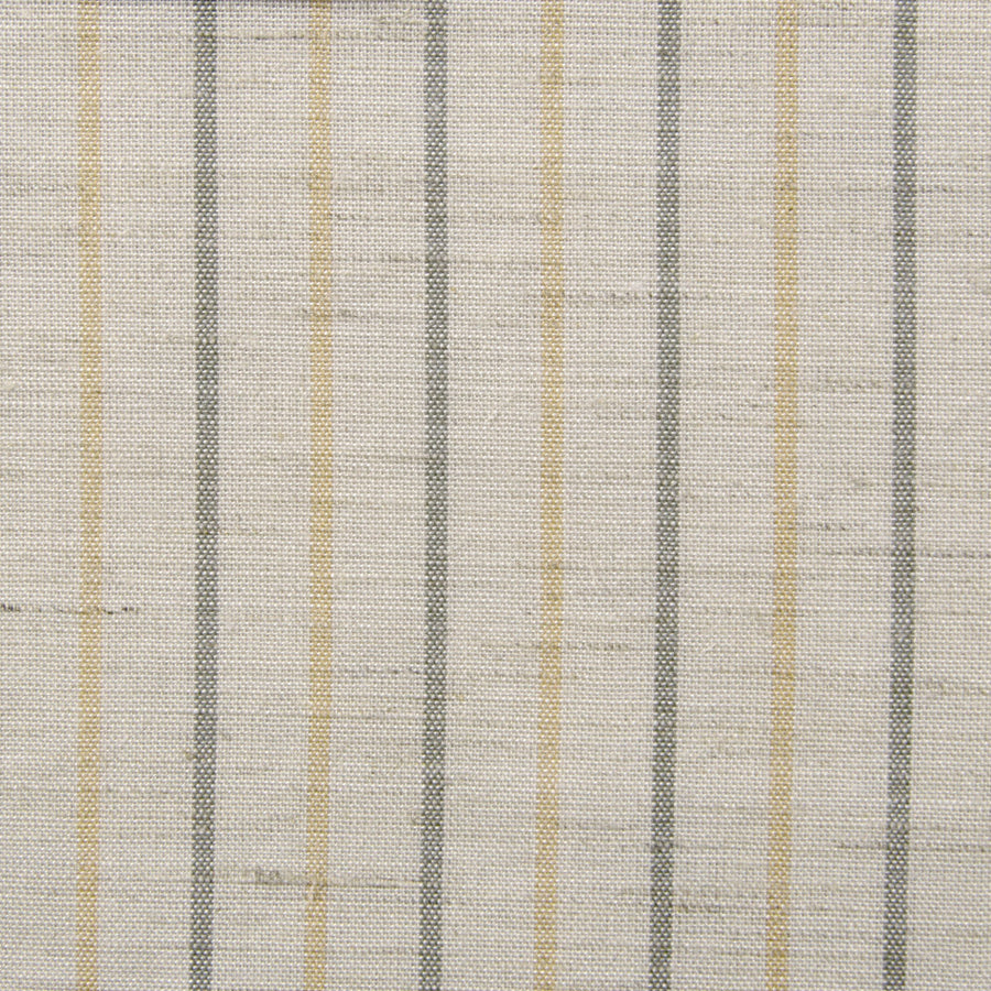 Natural Striped Linen 138Woven