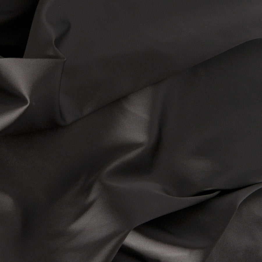 New Anthra Stretch Satin 1395Woven