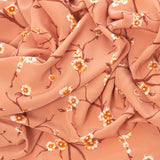 Floral Poly Blouseweight Fabric 141 - Fabrics4Fashion
