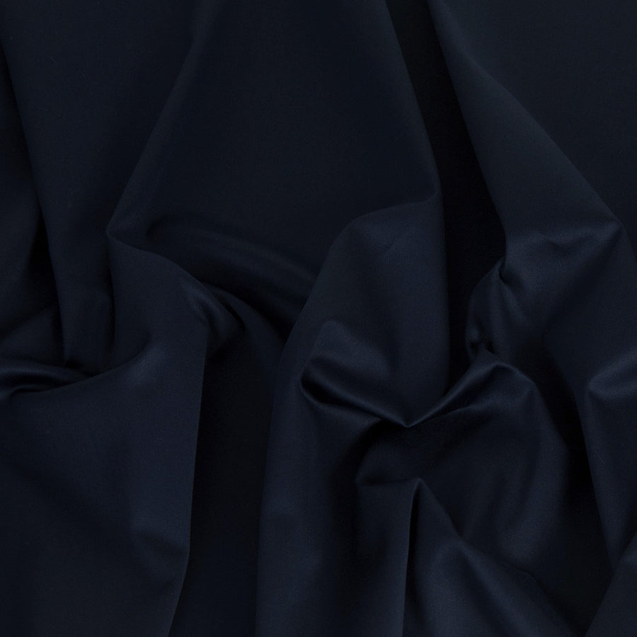 Navy Cotton Stretch Fabric 1438Woven