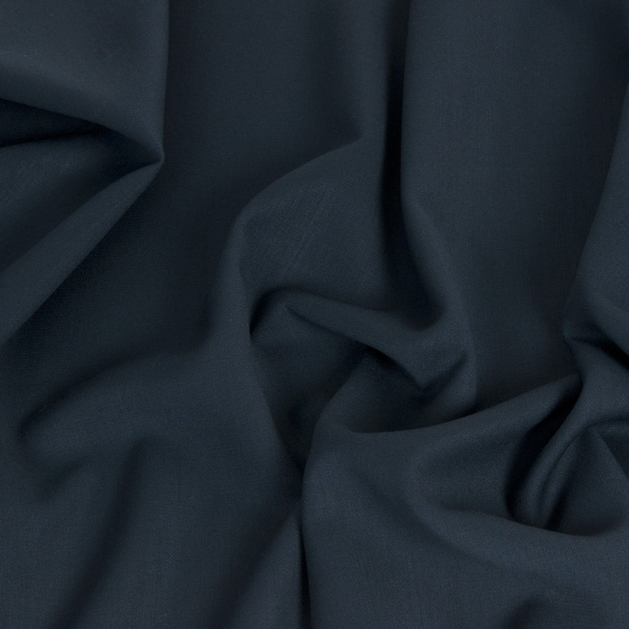 Peacock Blue Stretch Virgin Wool Fabric 1477Woven