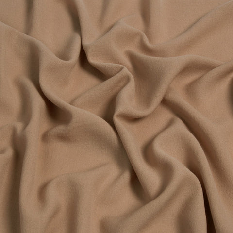 Mid-Weight Camel Wool Crepe 156Woven