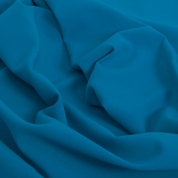 Royal Blue Doublewave Stretch Fabric 1577Woven