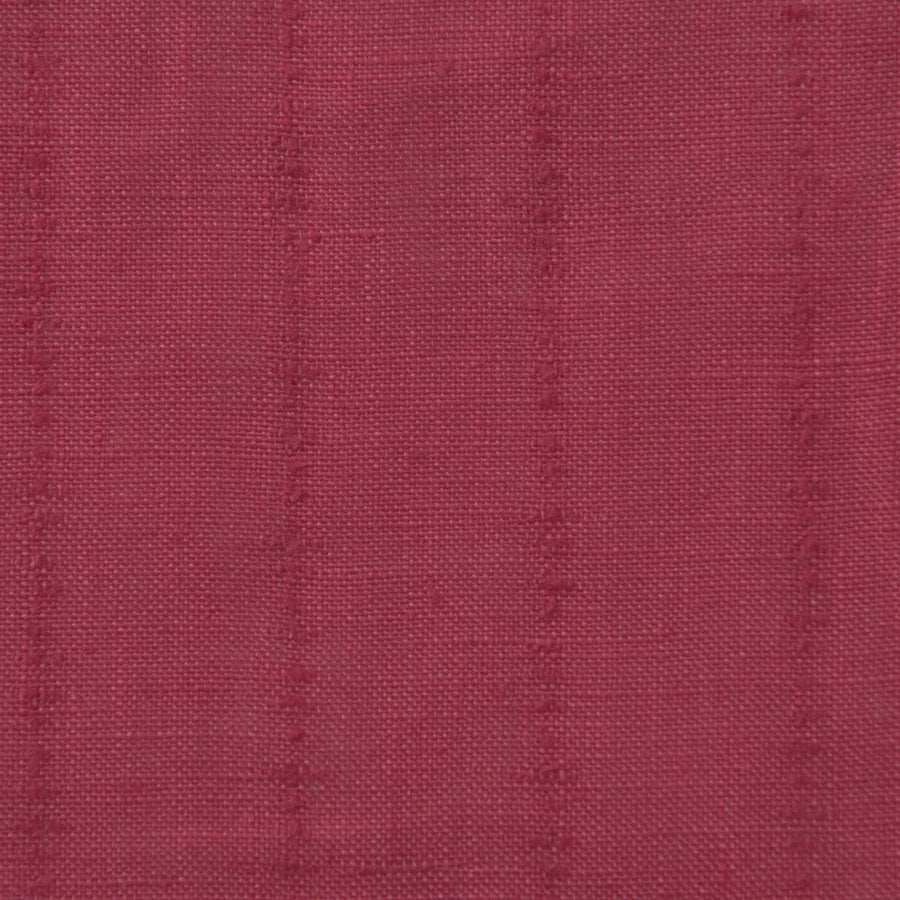 Cherry Red 100% Linen 1682 - Fabrics4Fashion