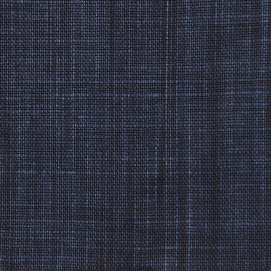 Denim Waxed Print Linen  1687 - Fabrics4Fashion