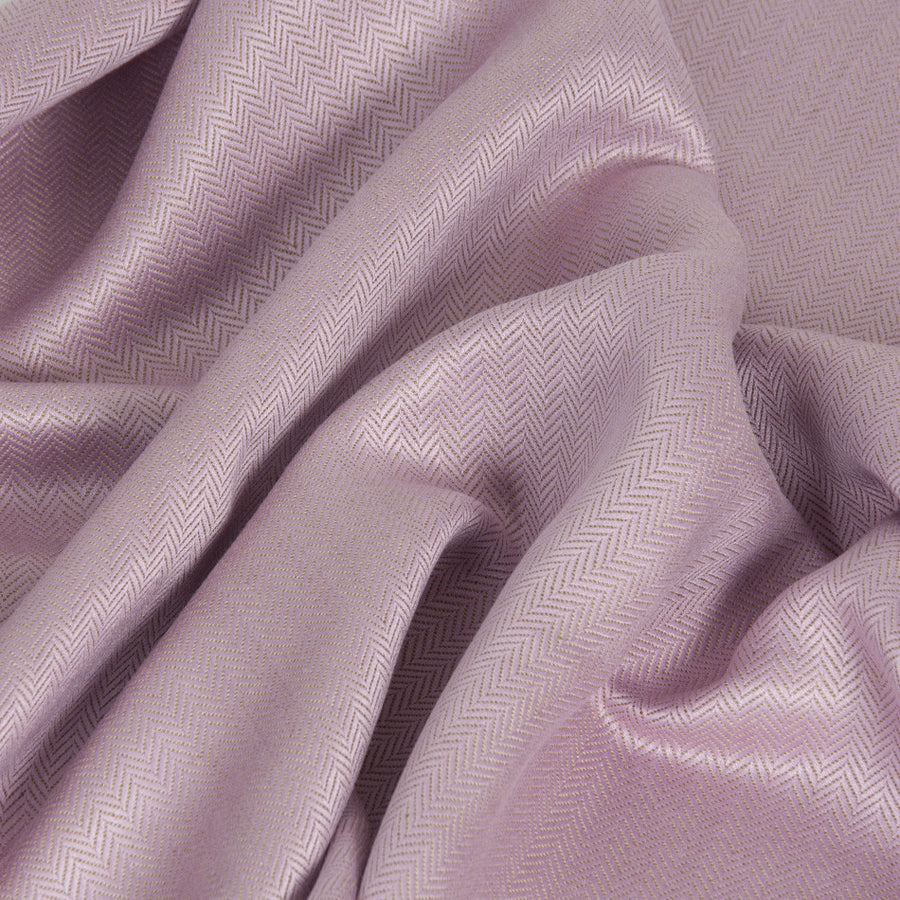 Pink Herringbone Linen/Viscose 1727 - Fabrics4Fashion