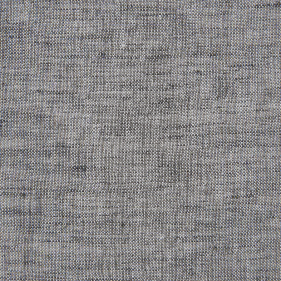 Grey Melange Linen  1741 - Fabrics4Fashion