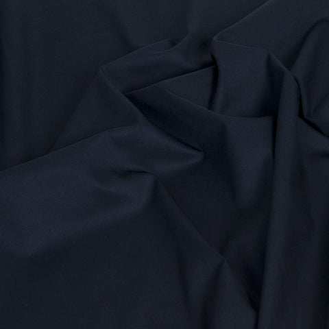 Navy Twill Mid-Weight Cotton Fabric 180Woven