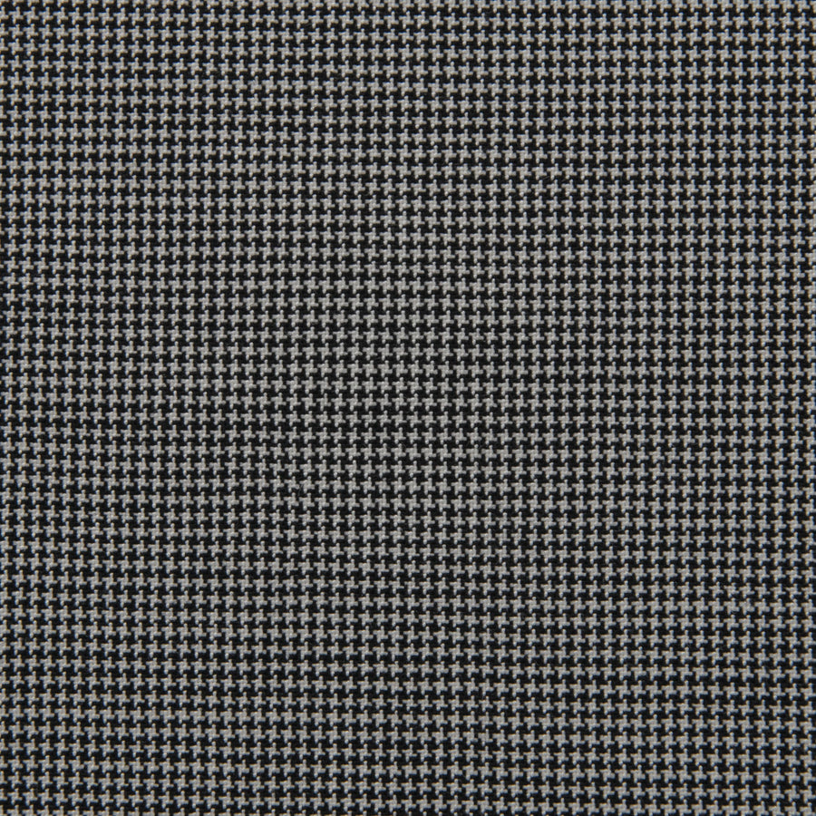Stretch Black & White Micro-motif Fabric 1809 - Fabrics4Fashion