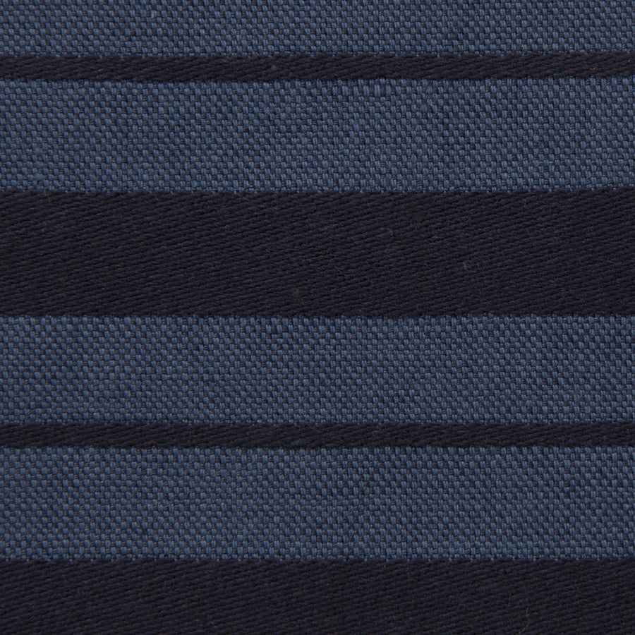 Striped Blue Blend 1817Woven