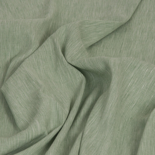 Green Stretch Linen 1822 - Fabrics4Fashion