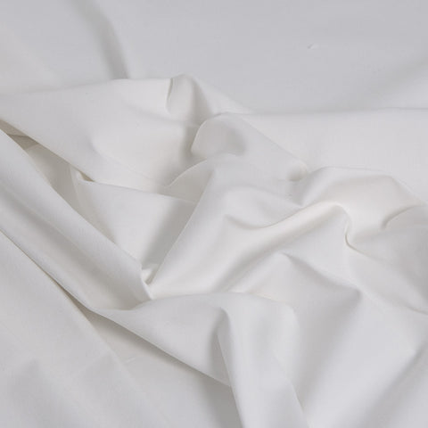 Feel comfortable with this mid-weight cotton fabric... High percentage of elastane provides the maximum benefit of stretch making the fabric flow and relax...