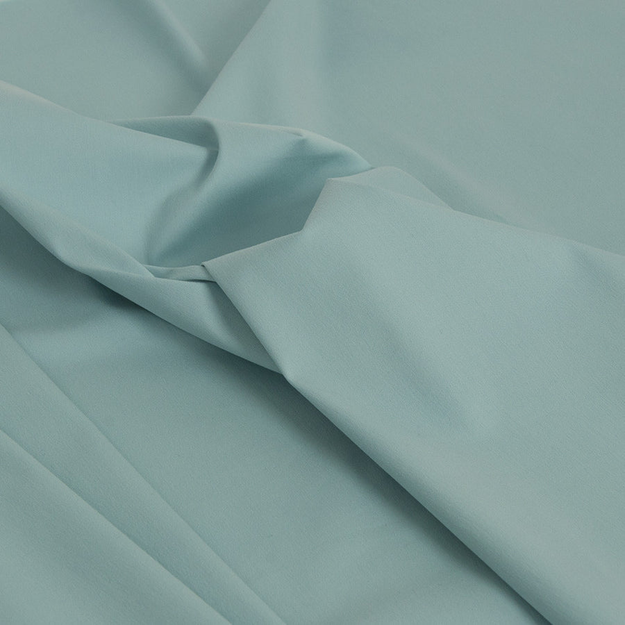 Aqua Blue Super Stretch Cotton 1842Woven