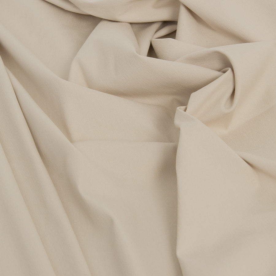 Beige Super Stretch Cotton 1843 - Fabrics4Fashion