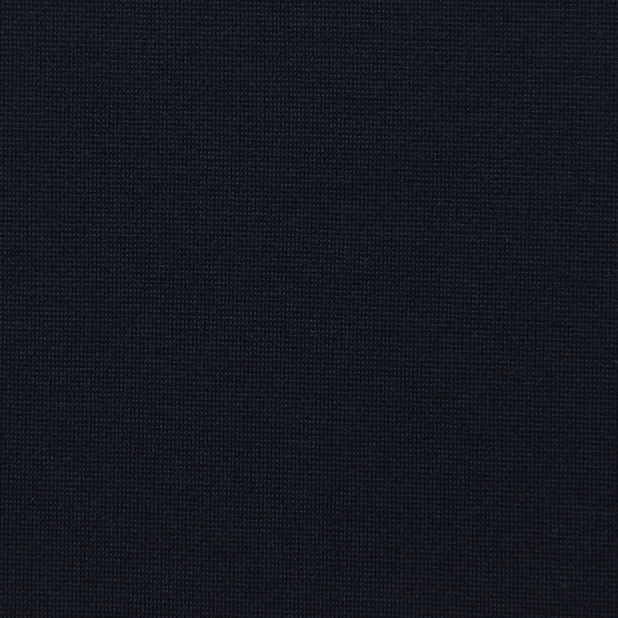 Navy Punto Roma Knit Fabric 1848Jersey