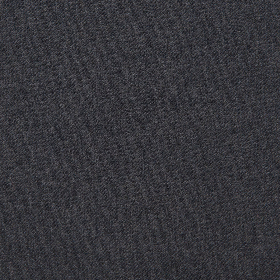 Grey Melange Stretch Wool 1849 - Fabrics4Fashion