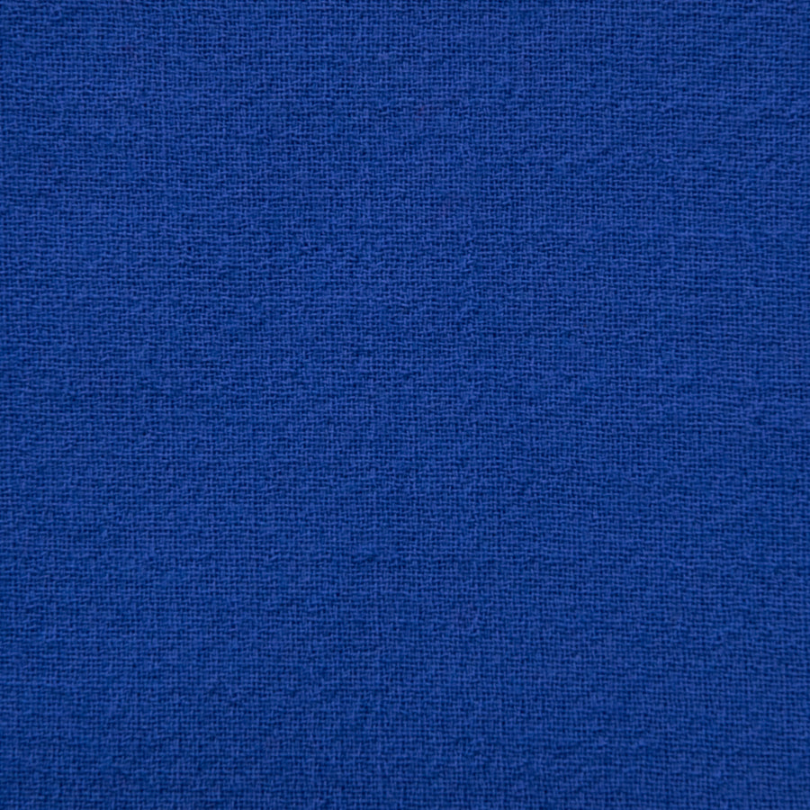 Royal Blue Doublewave Crepe 1876 - Fabrics4Fashion