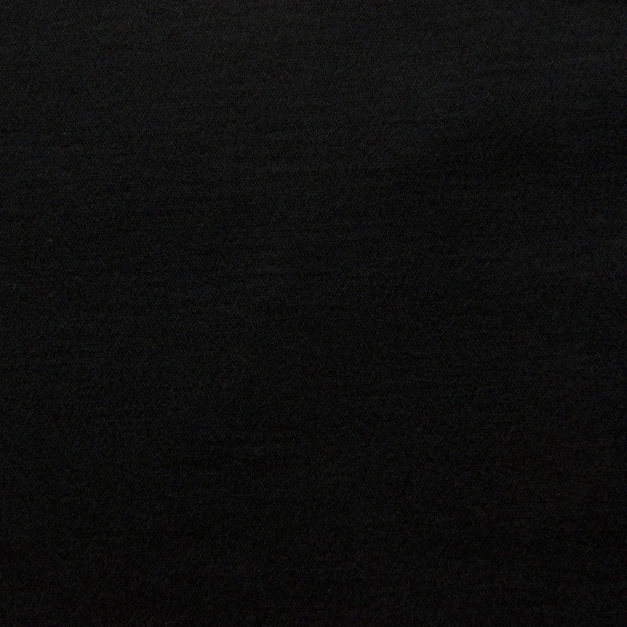 Black Plain Cotton Fabric 189 - Fabrics4Fashion