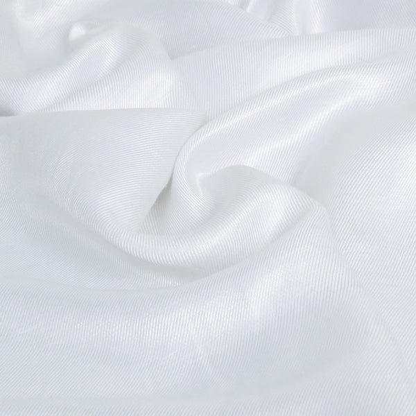 Luminous White Platinum Twill 1915Woven