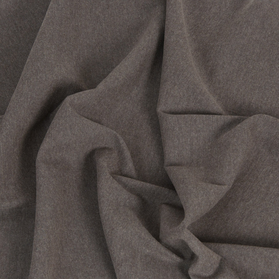 Taupe Flannel Linen/Wool Blend 194Woven
