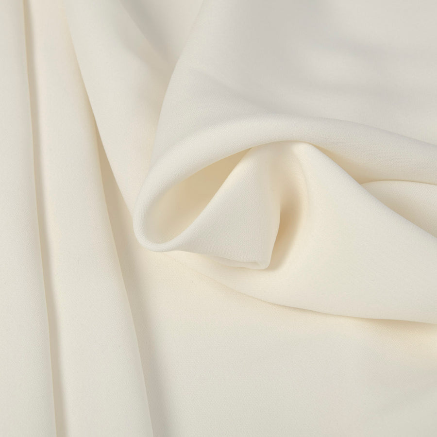 Ivory Crepe Viscose 2926 - Fabrics4Fashion