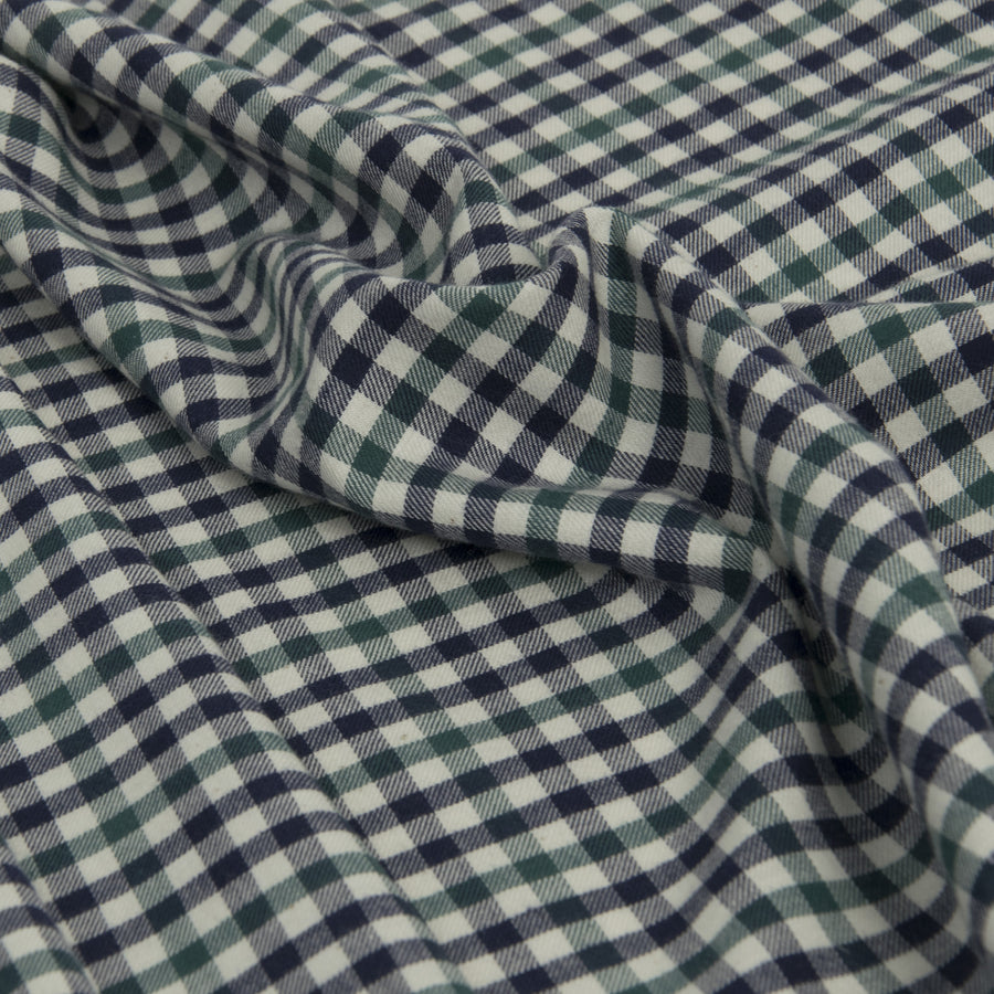 Multicolored Cotton Check 206Woven
