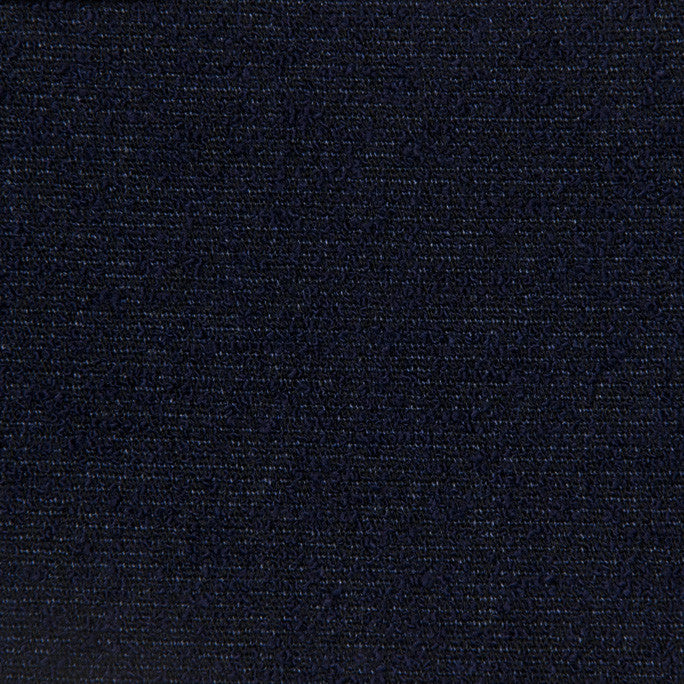 Navy Bouclé Suiting Fabric 209 - Fabrics4Fashion