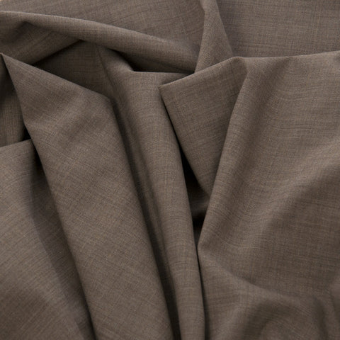 Melange Wool Stretch Suiting Fabric 20Woven
