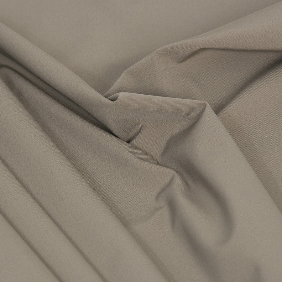 Grey Stretchy Poly Fabric 2112 - Fabrics4Fashion