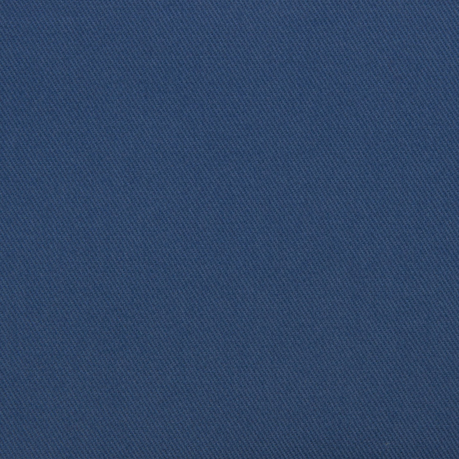 China Blue Stretchy Twill 2122 - Fabrics4Fashion