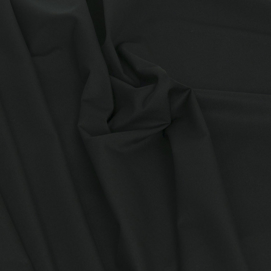 Black Waterproof Poly / Cotton 2129 - Fabrics4Fashion