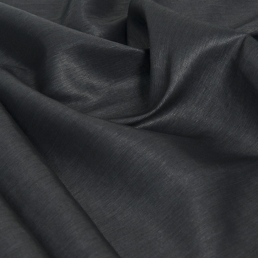 Black Shiny Canvas 2134 - Fabrics4Fashion
