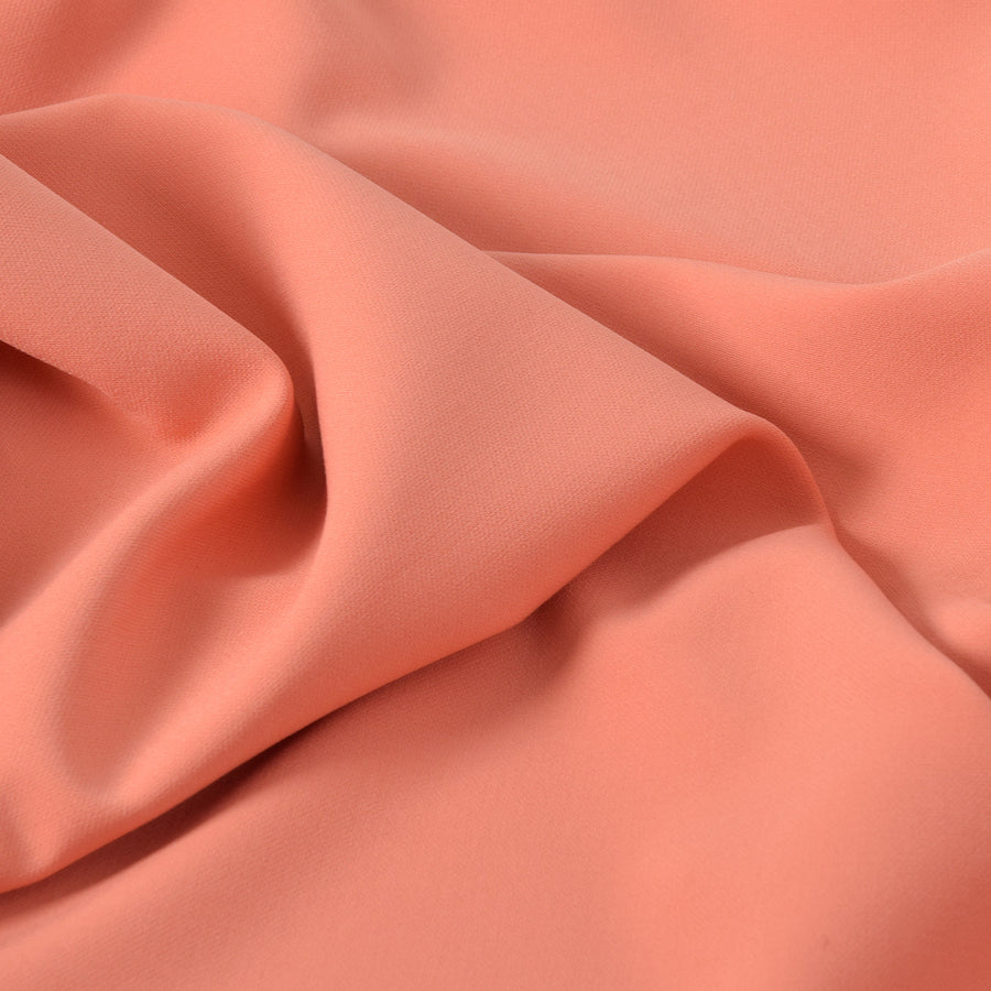 Salmon Doublewave Stretch Fabric 2183Woven