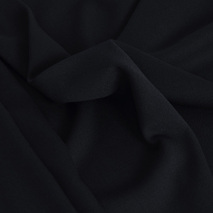 Navy Blue Wool Fabric 2298Woven