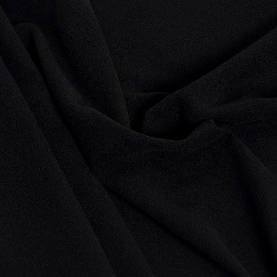 Black Wool / Polyamide Blend 2314 - Fabrics4Fashion