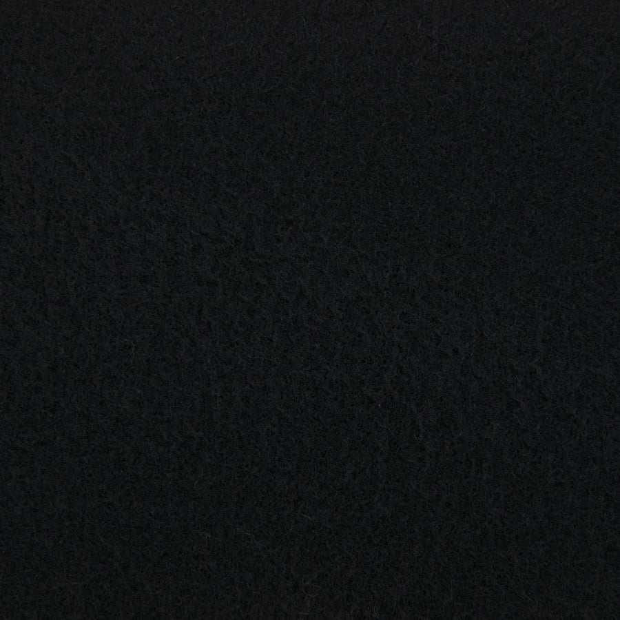 Black Wool/Cashmere Fabric 2316 - Fabrics4Fashion