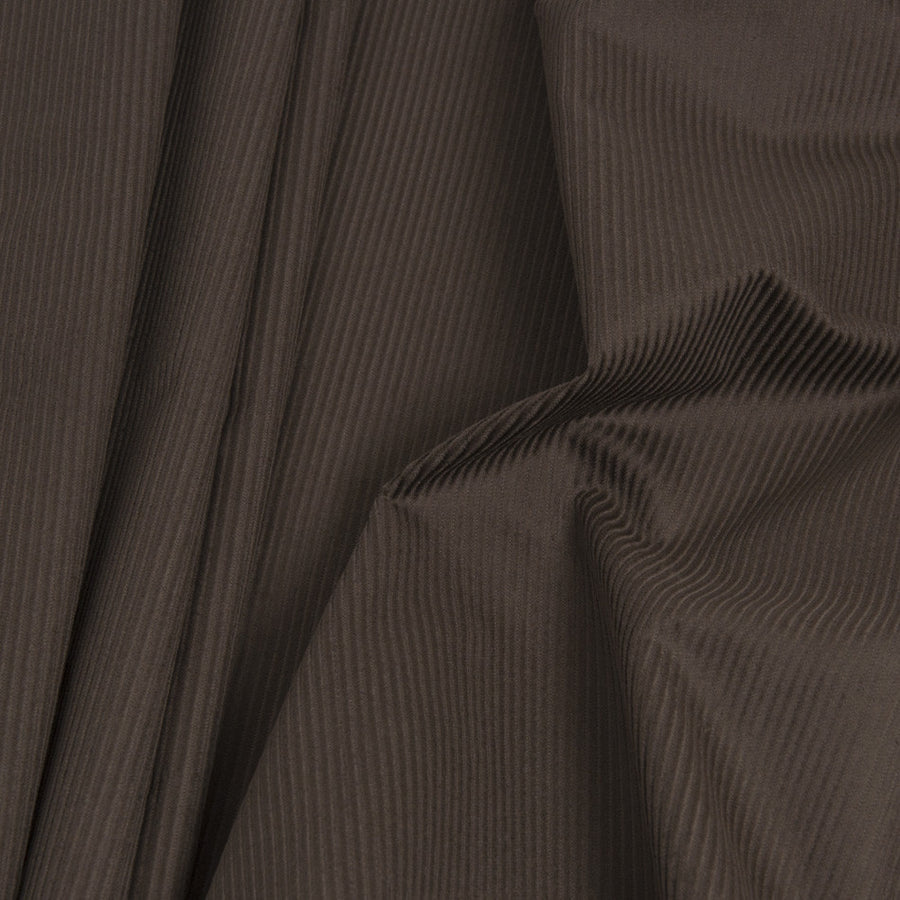 Brown Corduroy 100% Cotton 232 - Fabrics4Fashion