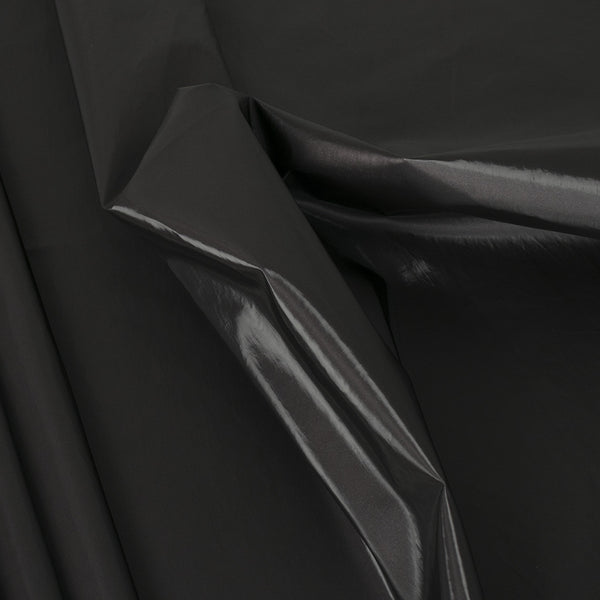 Charcoal Grey Rubberized Fabric 2334 - Fabrics4Fashion