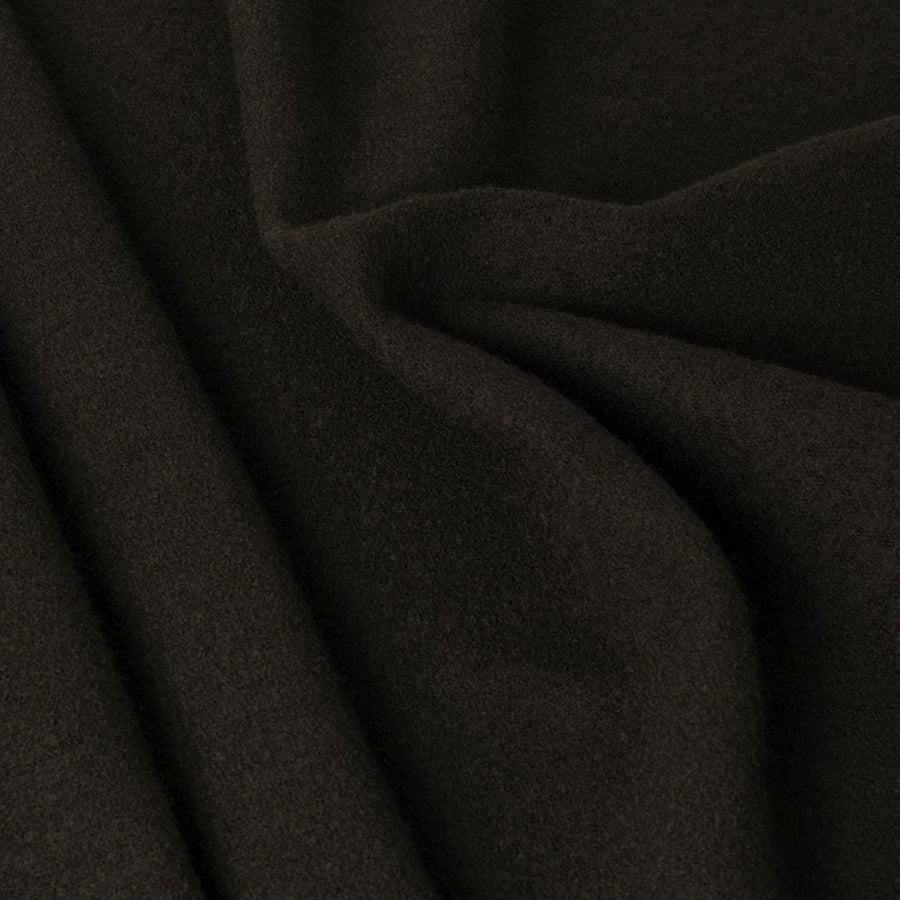 Brown Wool Coating Knit 2347 - Fabrics4Fashion