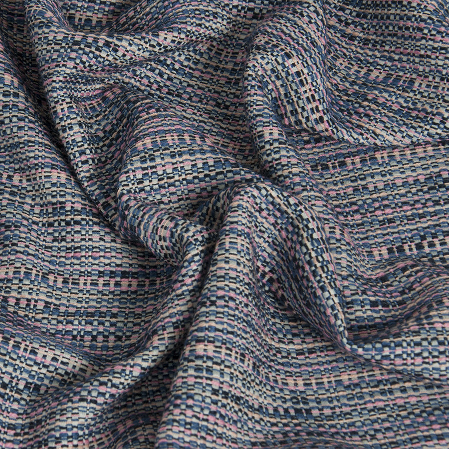 Multicolour Cotton Tweed 235 - Fabrics4Fashion
