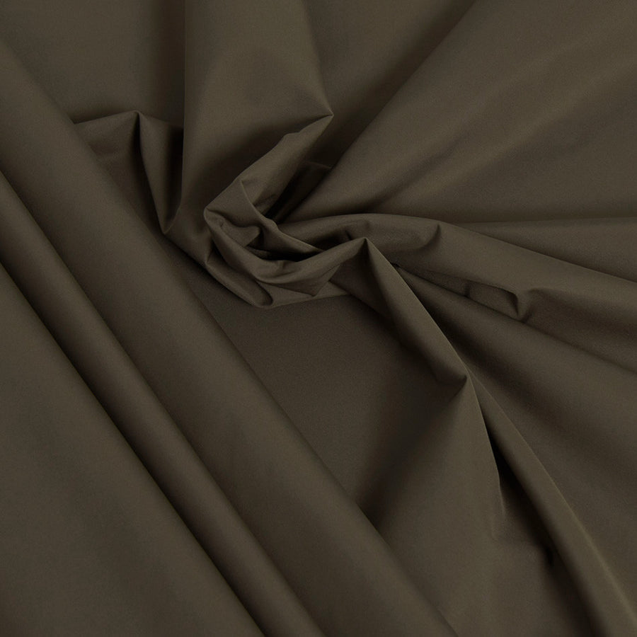 Light Techno Khaki Poly Fabric 2414Woven