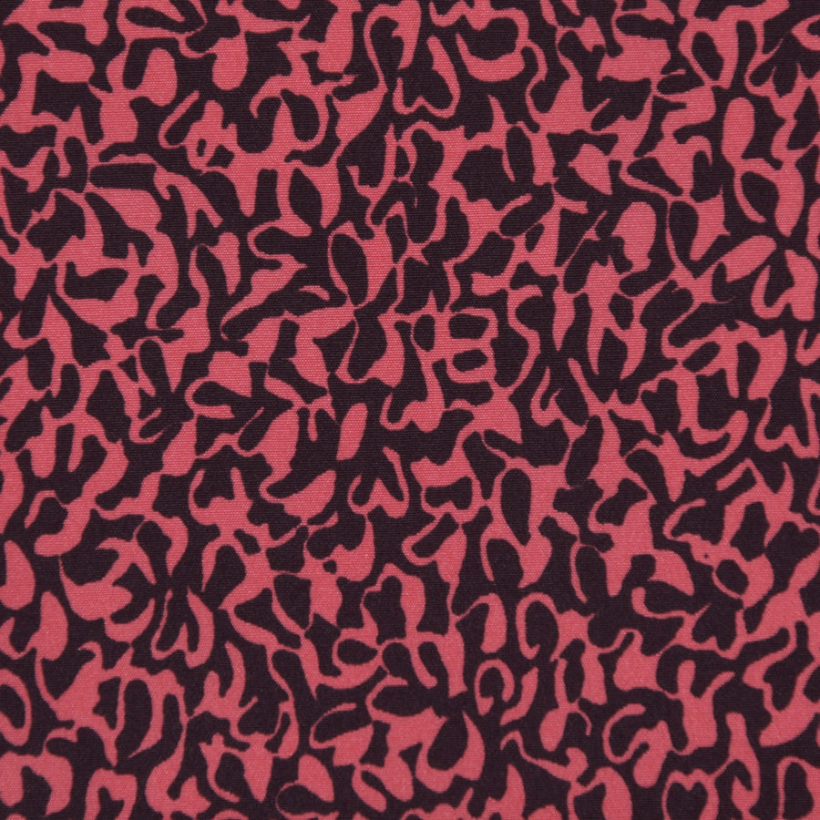 Retro Print Blouseweigth Fabric 2427Woven
