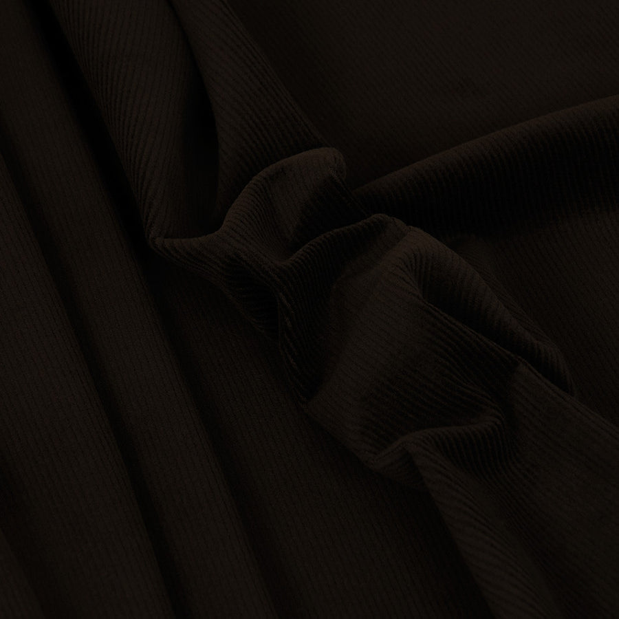 Brown Stretch Corduroy 2489 - Fabrics4Fashion