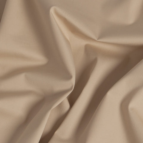 Beige Stretch Cotton 271 - Fabrics4Fashion