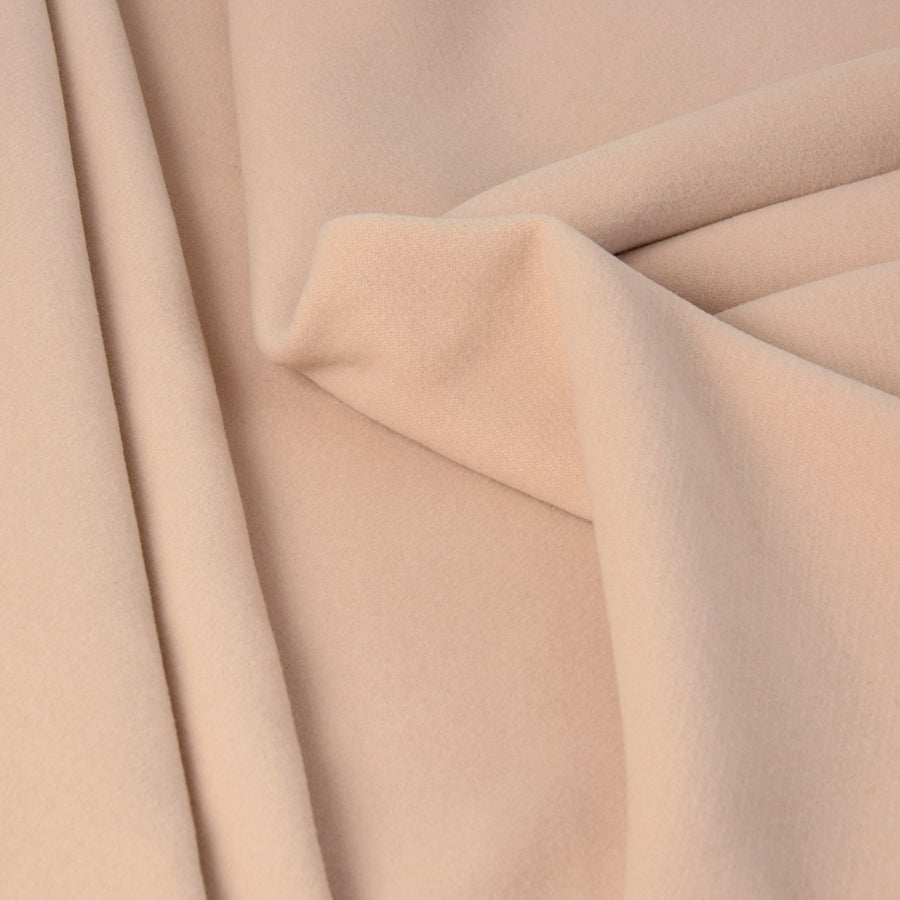 Beige Coating Cashmere Blended Fabric 2830 - Fabrics4Fashion